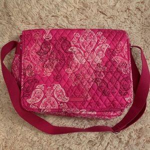 Vera Bradley messenger bag pink